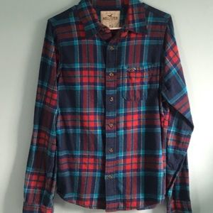 Men's Hollister Button Down Flannel